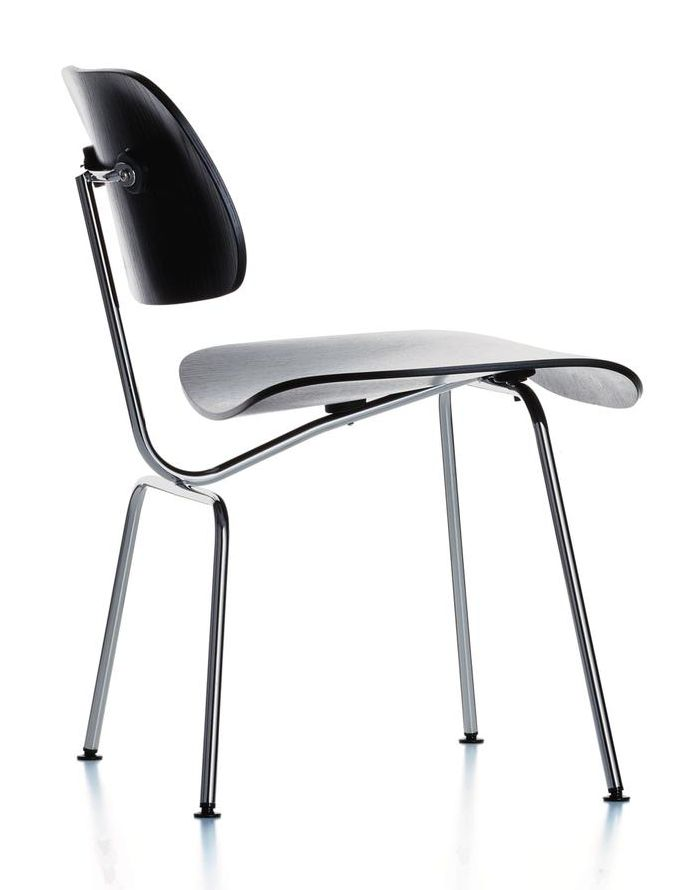 DCM by Charles & Ray Eames through Vitra from 1945. A classic of plywood furniture design.