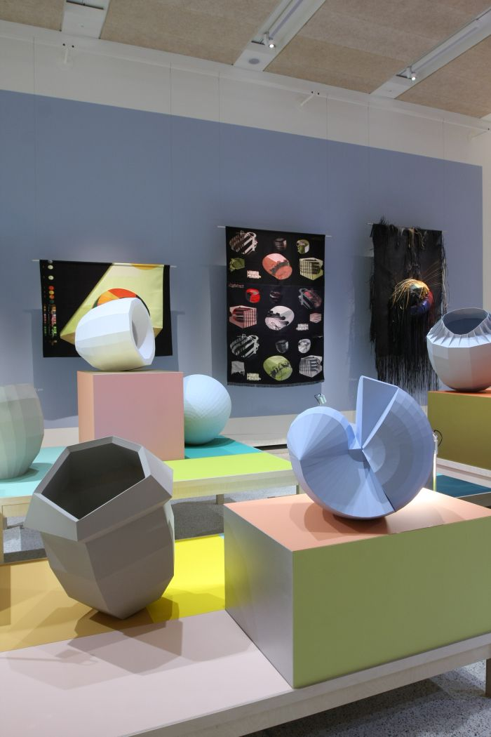 Noon colour catchers, as seen at Breathing Colour by Hella Jongerius, London Design Museum