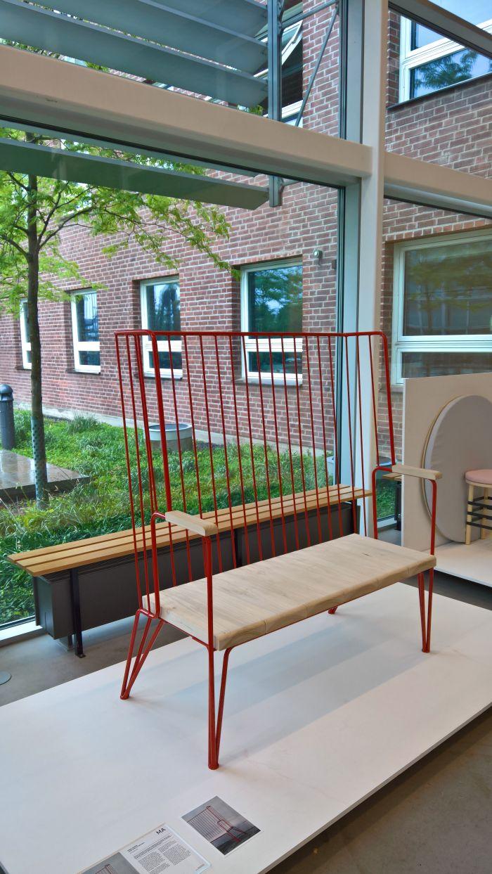 Norra Hamnen - Courtyard Kitchen Sofa by Odin Brange Sollie, as seen at Lund University School of Industrial Design Degree Exhibition 2017