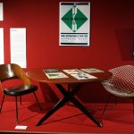 Knoll furniture items, as seen at Panorama. A History of Modern Design in Belgium, ADAM Brussels