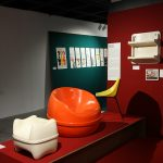 Items produced by Meurop, as seen at Panorama. A History of Modern Design in Belgium, ADAM Brussels
