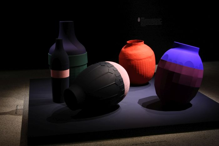 Vamblers - evening colour catchers, as seen at Breathing Colour by Hella Jongerius, London Design Museum