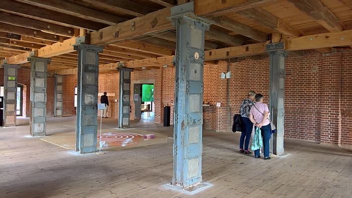 "The exhibition ""Alles hat seine Zeit"" presented in the Thormann-Speicher Wismar Harbour"