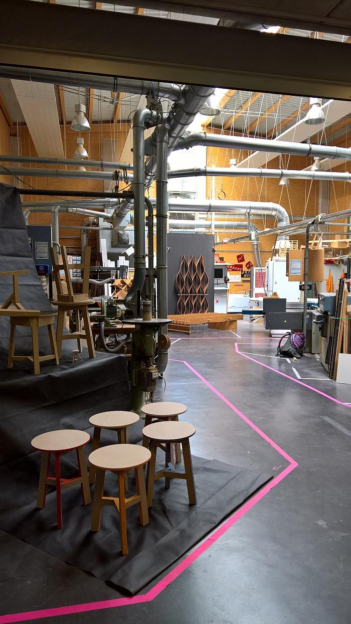 Burg Giebichenstein Kunsthochschule Halle: Carpentry Workshop