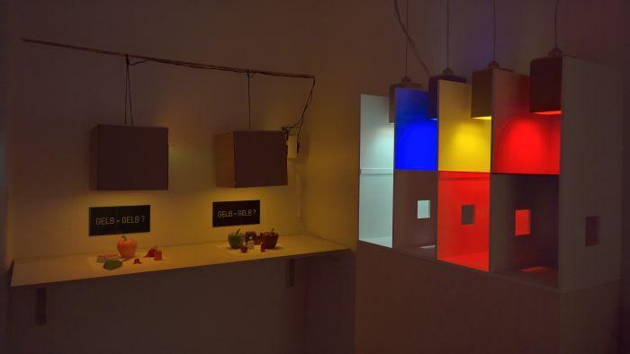 Licht & Farbe by Gerda Marie Notholt, as seen at 777 - The truth lies within Hochschule für Künste Bremen, Germany