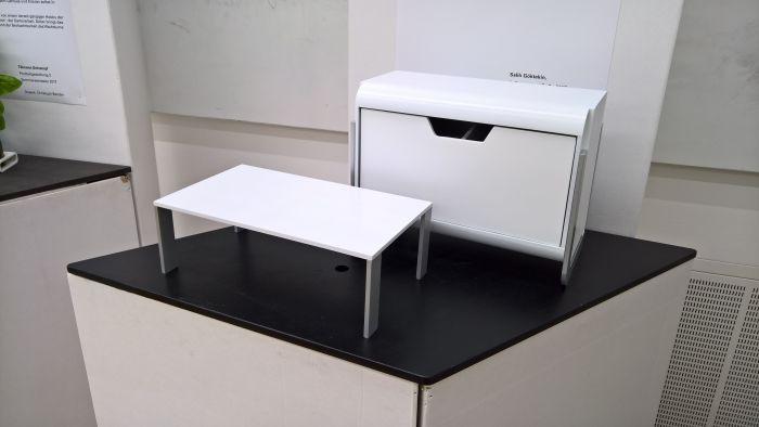Nachtisch 2.0 by Salih Göktekin, as seen at the Hochschule für Gestaltung Schwäbisch Gmünd Rundgang 2017