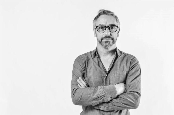 Peter Barker, Head of Industrial Design, Design School Kolding (Photo: Katrine Worsøe, courtesy Design School Kolding)