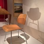 The DCM by Charles and Ray Eames, as seen at Plywood: Material of the Modern World, the V&A Museum London