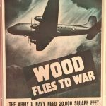 Wood flies to War!!! A lot of pylwood at that.....