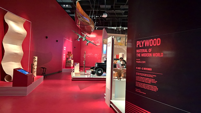 Plywood: Material of the Modern World at the V&A London