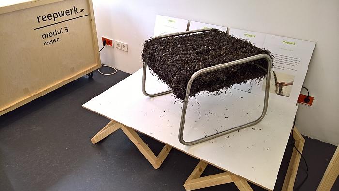 Reepwerk by Marc Wejda and Rike Silz, as seen at Jahresausstellung Burg Giebichenstein Kunsthochschule Halle