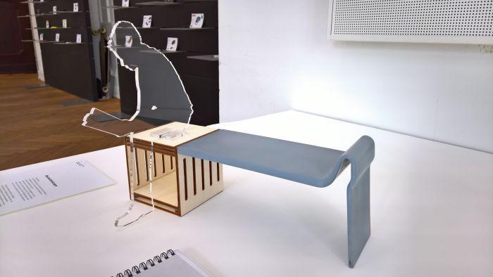 Vom Stuhl zur Bank Sara Fileppi & Fabio Maximilian Wolf, as seen at the Hochschule für Gestaltung Schwäbisch Gmünd Rundgang 2017