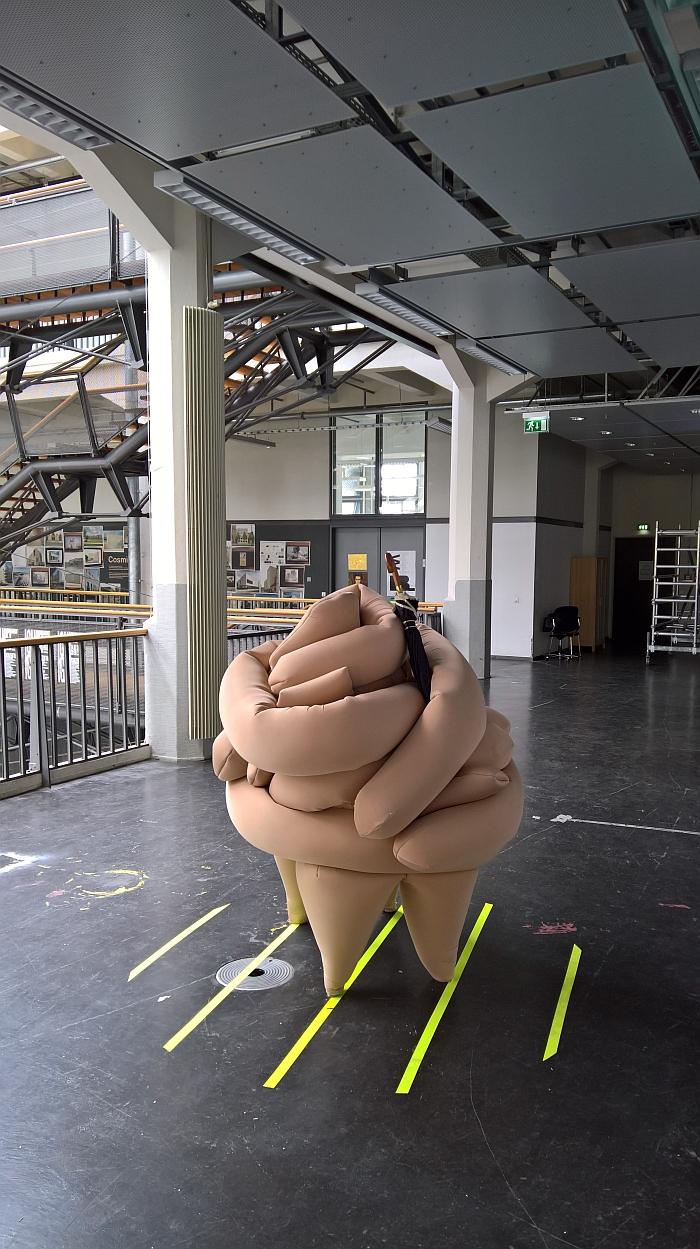 Fetter Schrank by Anne Tönsmann for kkaarrlls, as seen at Rundgang durch die Lichthöfe, Hochschule für Gestaltung Karlsruhe