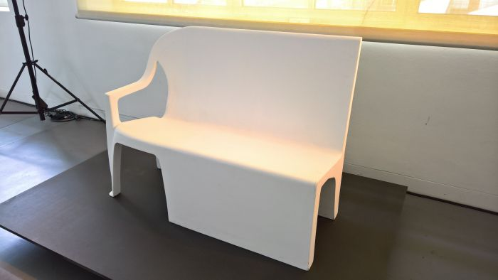 Bench Chair by Thomas Schnur, as seen at LuForm Ludwig Forum Aachen