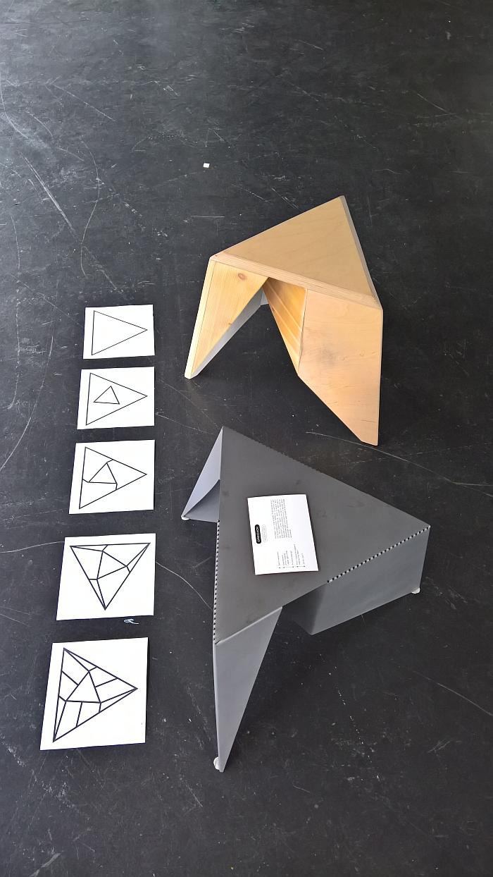 Dreizack by Gregor Stober, as seen at Rundgang durch die Lichthöfe, Hochschule für Gestaltung Karlsruhe