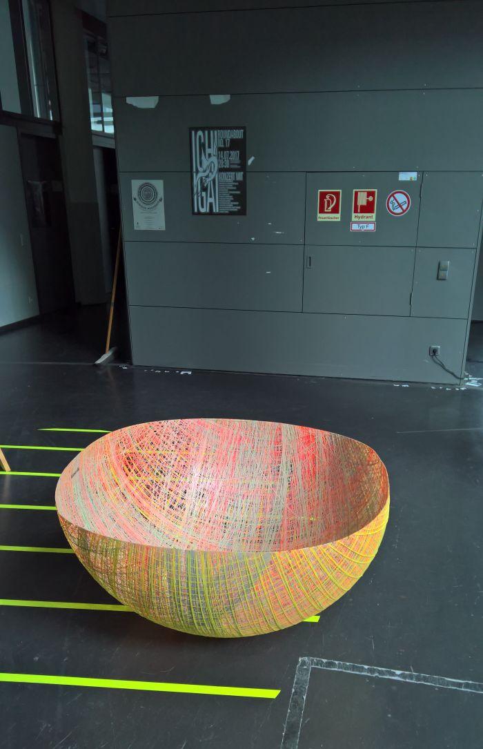 MOA by Eva Marguerre & Marcel Besau for kkaarrlls, as seen at Rundgang durch die Lichthöfe, Hochschule für Gestaltung Karlsruhe