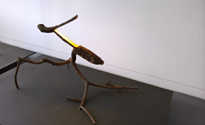 Snappy Tree Friend by Marco Iannicelli, as seen at LuForm Ludwig Forum Aachen
