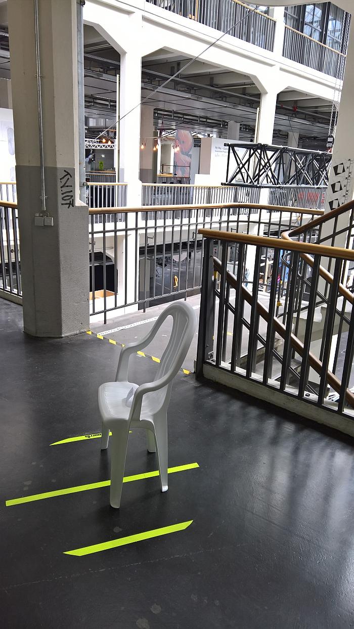 Yurt Market 800 by Max Guderian & Clemens Lauer for kkaarrlls, as seen at Rundgang durch die Lichthöfe, Hochschule für Gestaltung Karlsruhe