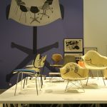 Eames Chairs, as seen at Charles & Ray Eames. The Power of Design, Vitra Design Museum