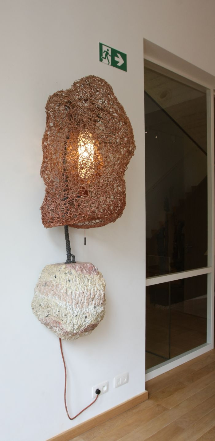 Probably the closest you'll get to a Nacho Carbonell wall lamp...