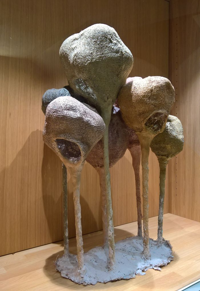 A maquette, as seen at Living Organisms, the Horta Museum Brussels
