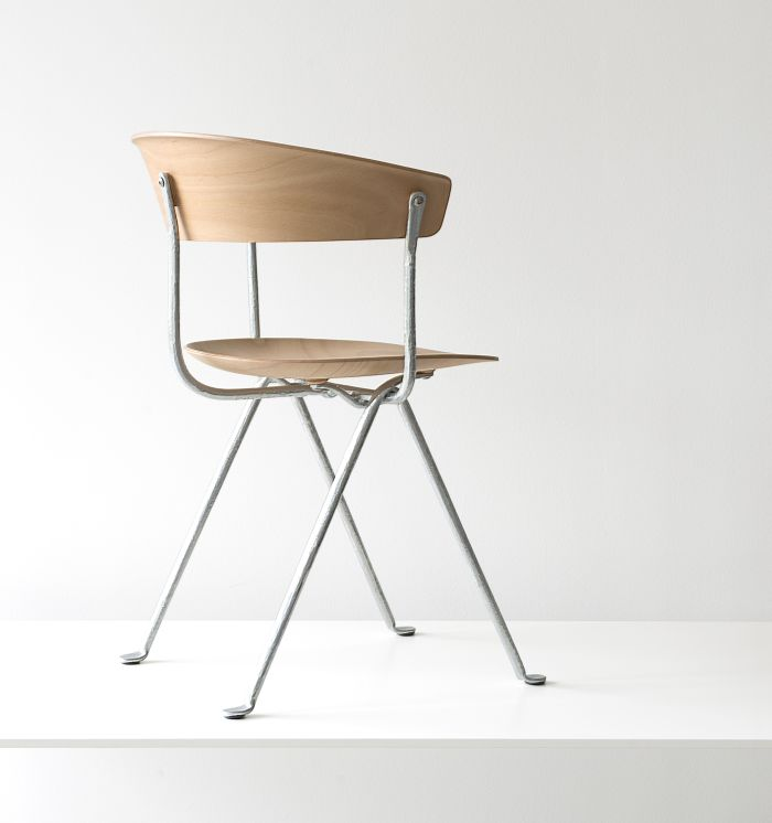 Officina chair by Ronan & Erwan Bouroullec for Magis (Photo © and courtesy Studio Bouroullec)