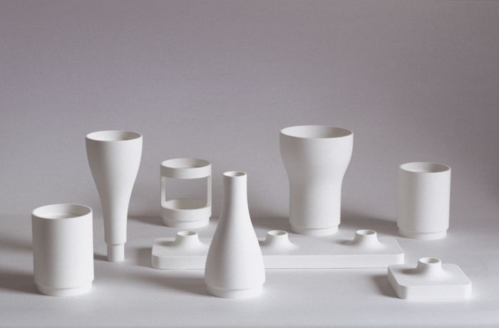 Vases combinatoires by Ronan & Erwan Bouroullec (Photo © Morgane Le Gall, courtesy Studio Bouroullec)