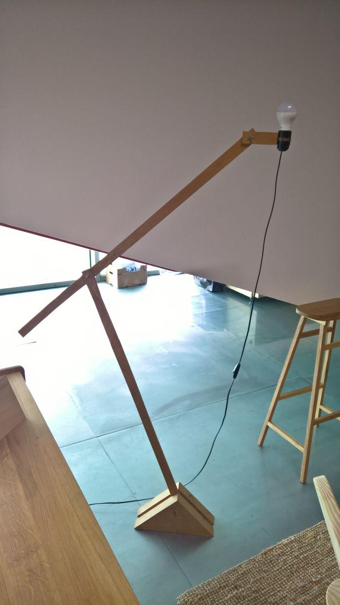 Heron Lamp by woodmade, as seen at now! le Off!, Paris Design Week 2017