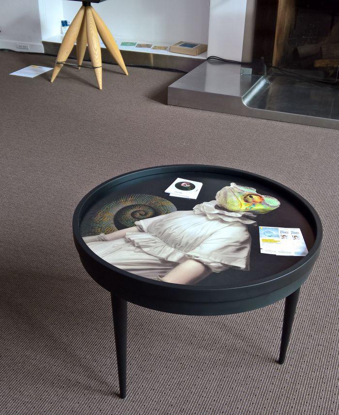 Dixit coffee table, as seen at Transformation, Ukrainian Cultural Centre, Paris Design Week 2017.....