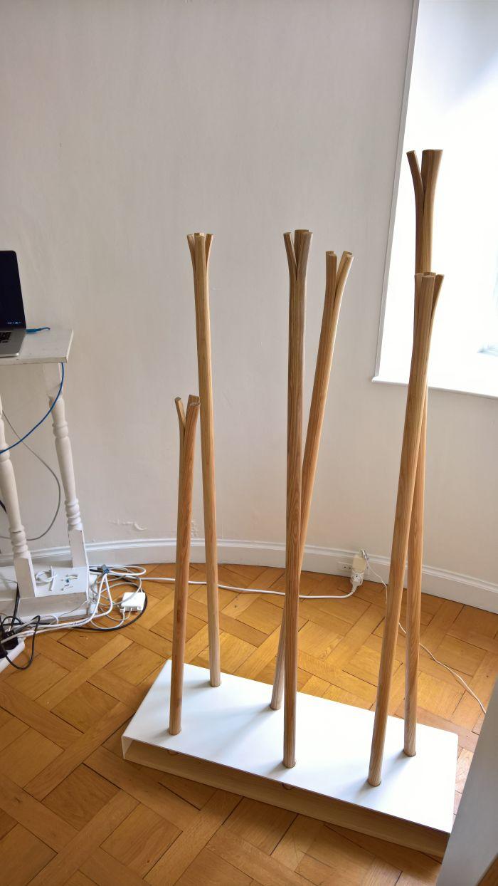 Hilka by Ulyana Zachkevych & Stanislav Boichuk for MZPA, as seen at Transformation, Ukrainian Cultural Centre, Paris Design Week 2017.....