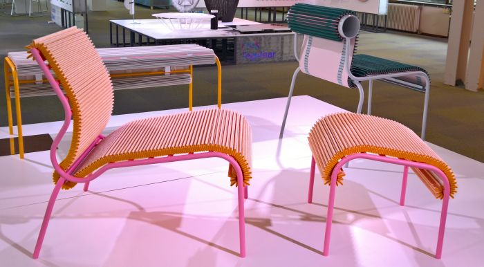 Pleated Seat by Joris de Groot, as seen at Dutch Design Week 2017