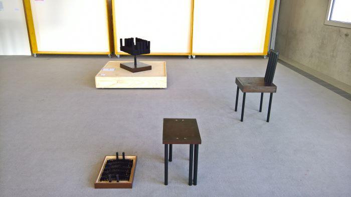 Sitzen auf der Bürste by Seungmin Baek, as seen at, Finale 2017, Folkwang Universität der Künste, Essen