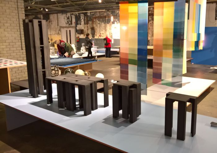 Stackable Stools by Bram Vanderbeke, as seen at Dutch Design Week 2017