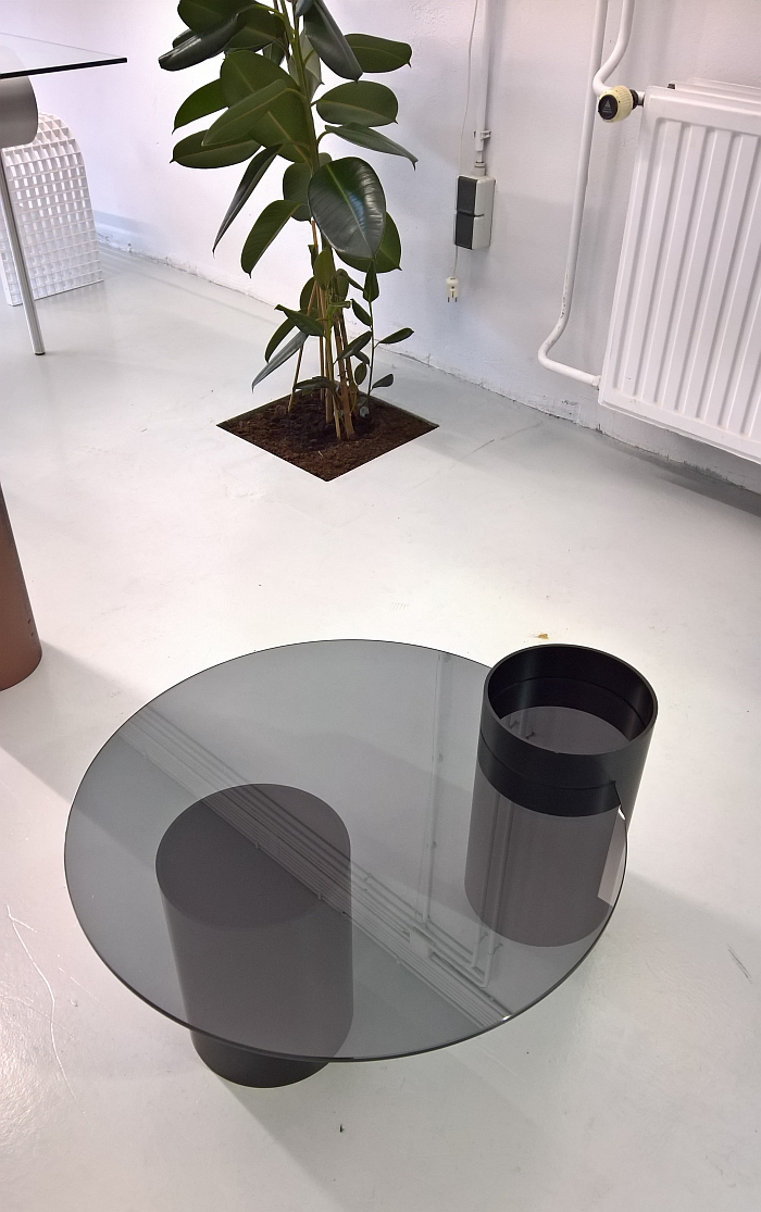 Tunnel Side Table by OS ∆ OOS, as seen at Dutch Design Week Eindhoven 2017