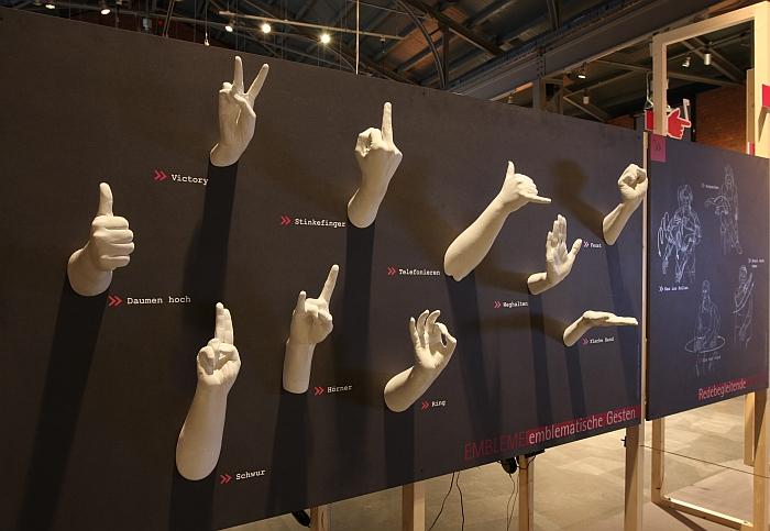 Gestures - Past, Present and Future at the Sächsische Industriemuseum Chemnitz