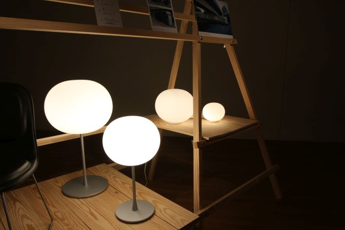 Glo-ball by Jasper Morrison for Flos, as seen at Jasper Morrison - Thingness, Grassi Museum for Applied Arts Leipzig