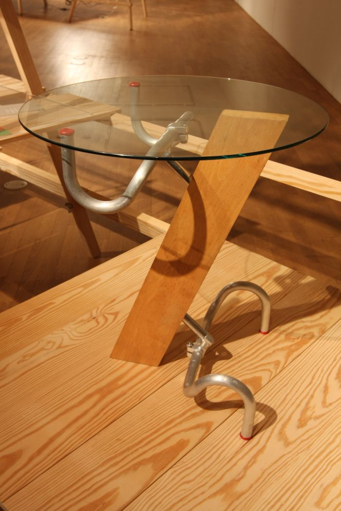 Handlebar Table by Jasper Morrison, as seen at Jasper Morrison - Thingness, Grassi Museum for Applied Arts Leipzig