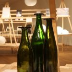 Three Green Bottles by Jasper Morrison, as seen at Jasper Morrison - Thingness, Grassi Museum for Applied Arts Leipzig