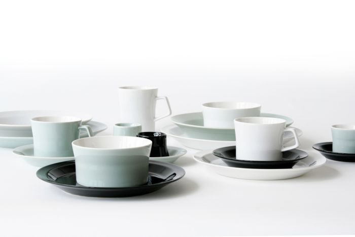 The crockery collection Piu by Patrick Frey for Authentics (Photo © and courtesy Patrick Frey)