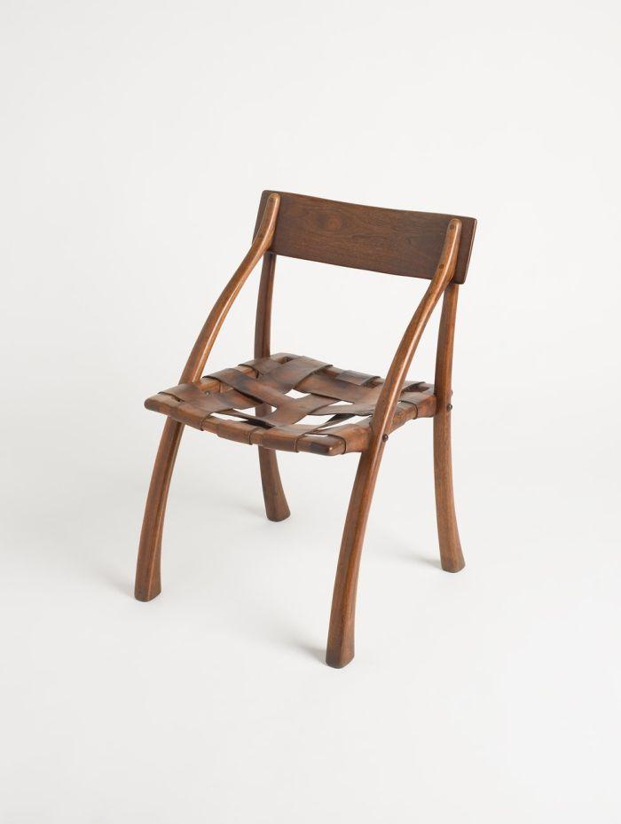 Wishbone Chair by Arthur Espenet Carpenter, 1970 (Photo Katherine Du Tiel, © & courtesy San Francisco Museum of Modern Art)