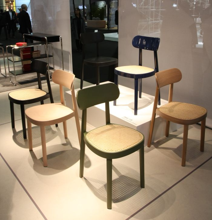 118 by Sebastian Herkner for Thonet, as seen at IMM Cologne 2018