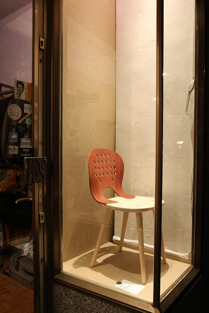 Chair by Klemens GrundIn Arbeit. Prototypen von Thomas Schnur und Klemens Grund, Passagen Cologne 2018