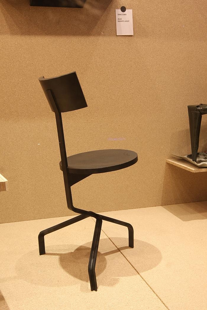 Chair by Thomas Schnur, In Arbeit. Prototypen von Thomas Schnur und Klemens Grund, Passagen Cologne 2018