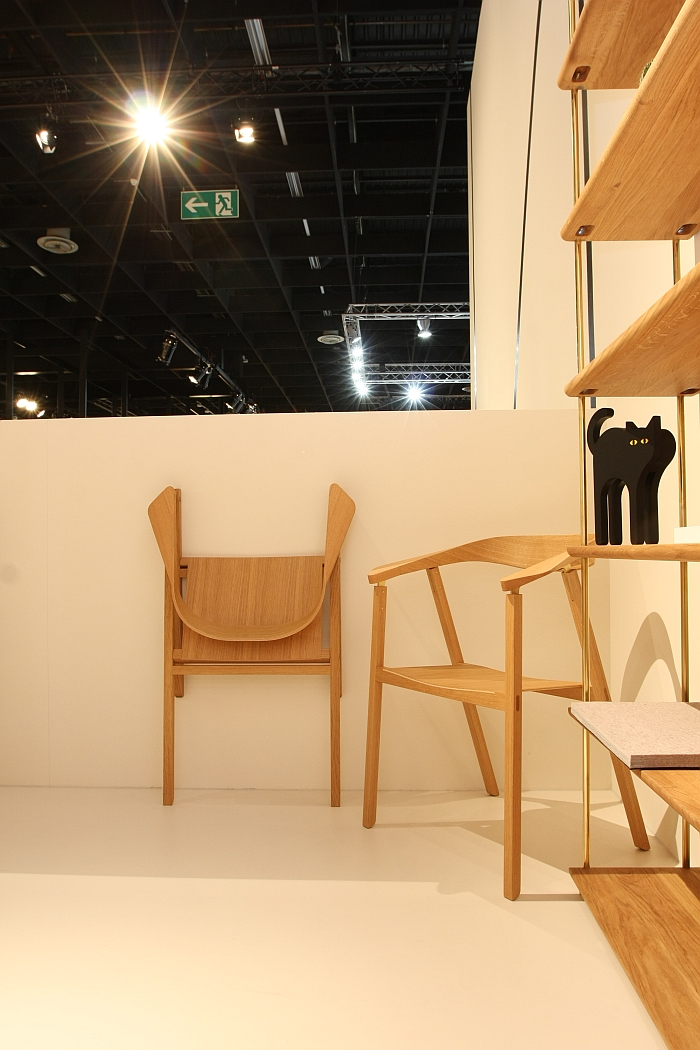 D7 Chair & D7K Folding Chair by Klemens Grund for TECTA, as seen at IMM Cologne 2018