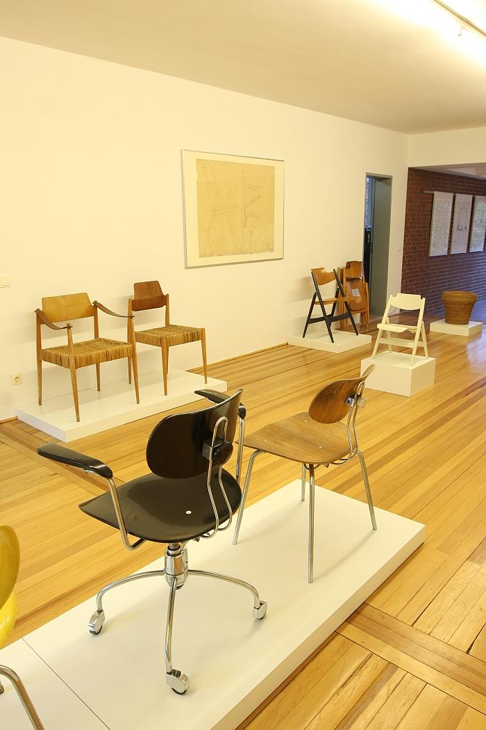 Der Stuhl des Architekten - Sitzmöbel von Egon Eiermann @ Ungers Archiv für Architekturwissenschaft Cologne