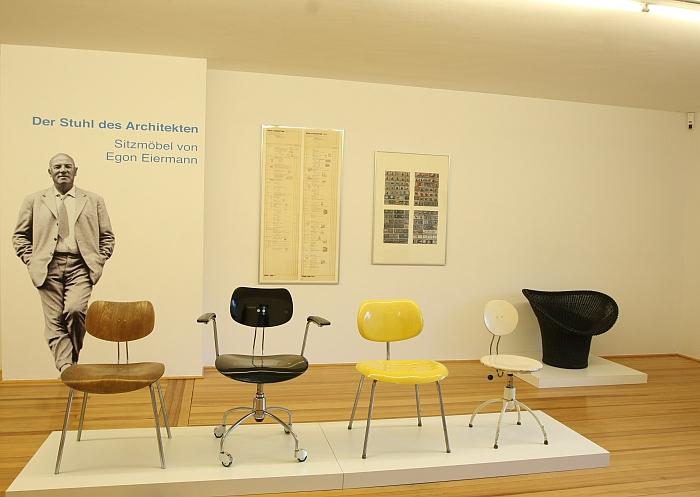 Der Stuhl des Architekten - Sitzmöbel von Egon Eiermann @ Ungers Archiv für Architekturwissenschaft CologneDer Stuhl des Architekten - Sitzmöbel von Egon Eiermann @ Ungers Archiv für Architekturwissenschaft Cologne