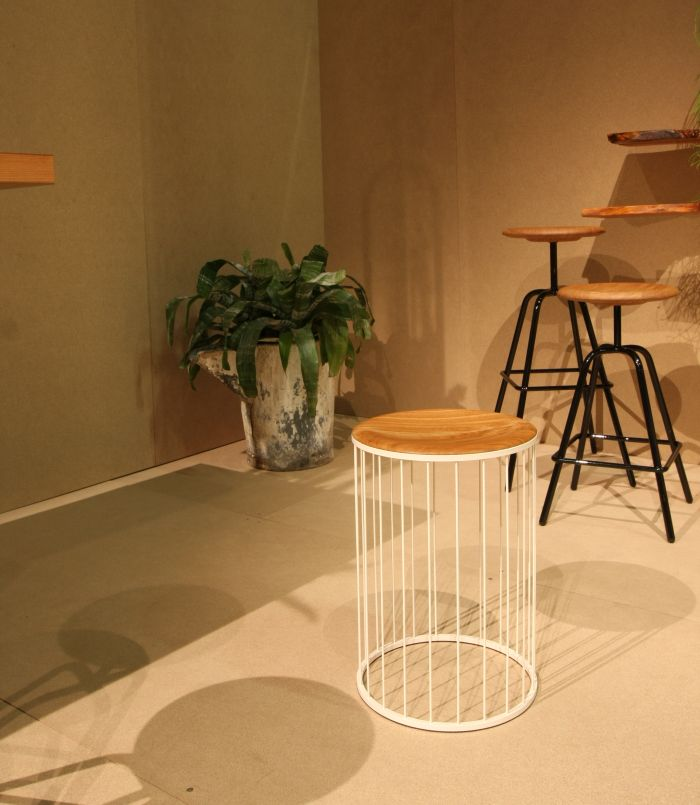 Hipster Stool by Federik Sonnenberg & Lukas Semmler for Atelier Haußmann, as seen at IMM Cologne 2018