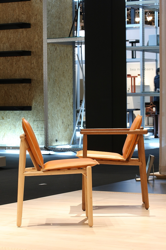 Igman Chair by Harri Koskinen for Zanat, as seen at IMM Cologne 2018