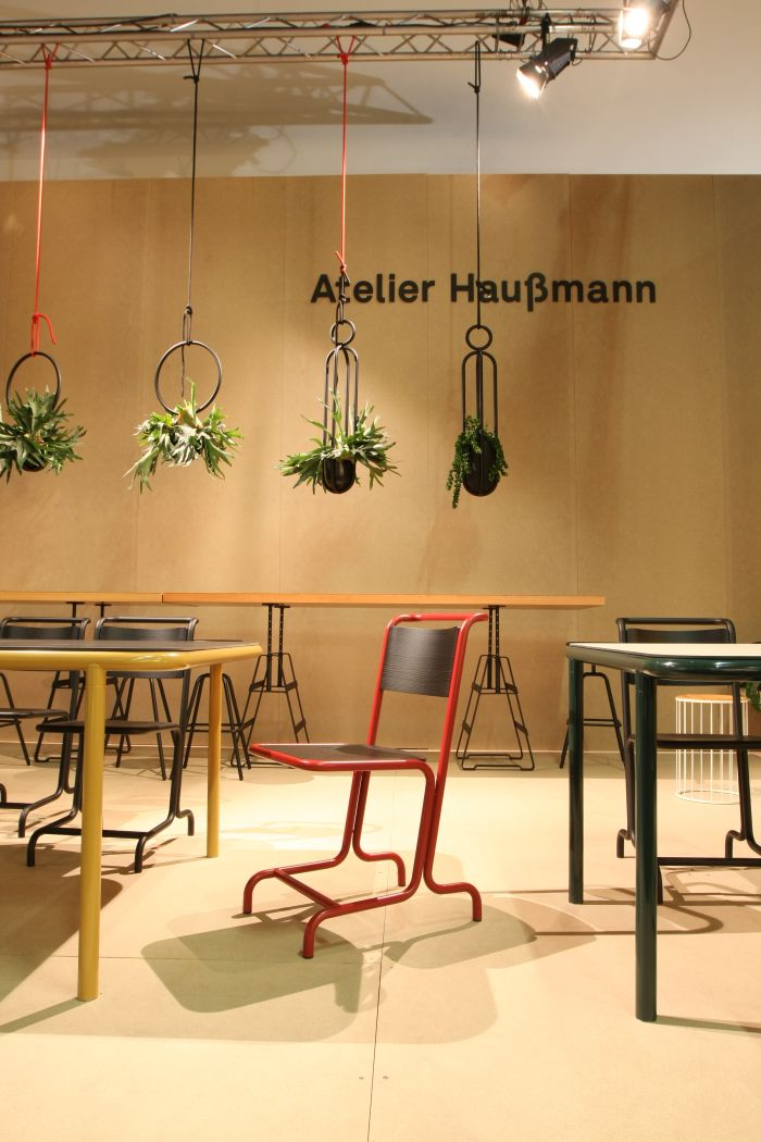 Laszlo Chair by Andree Weißert for Atelier Haußmann, as seen at IMM Cologne 2018