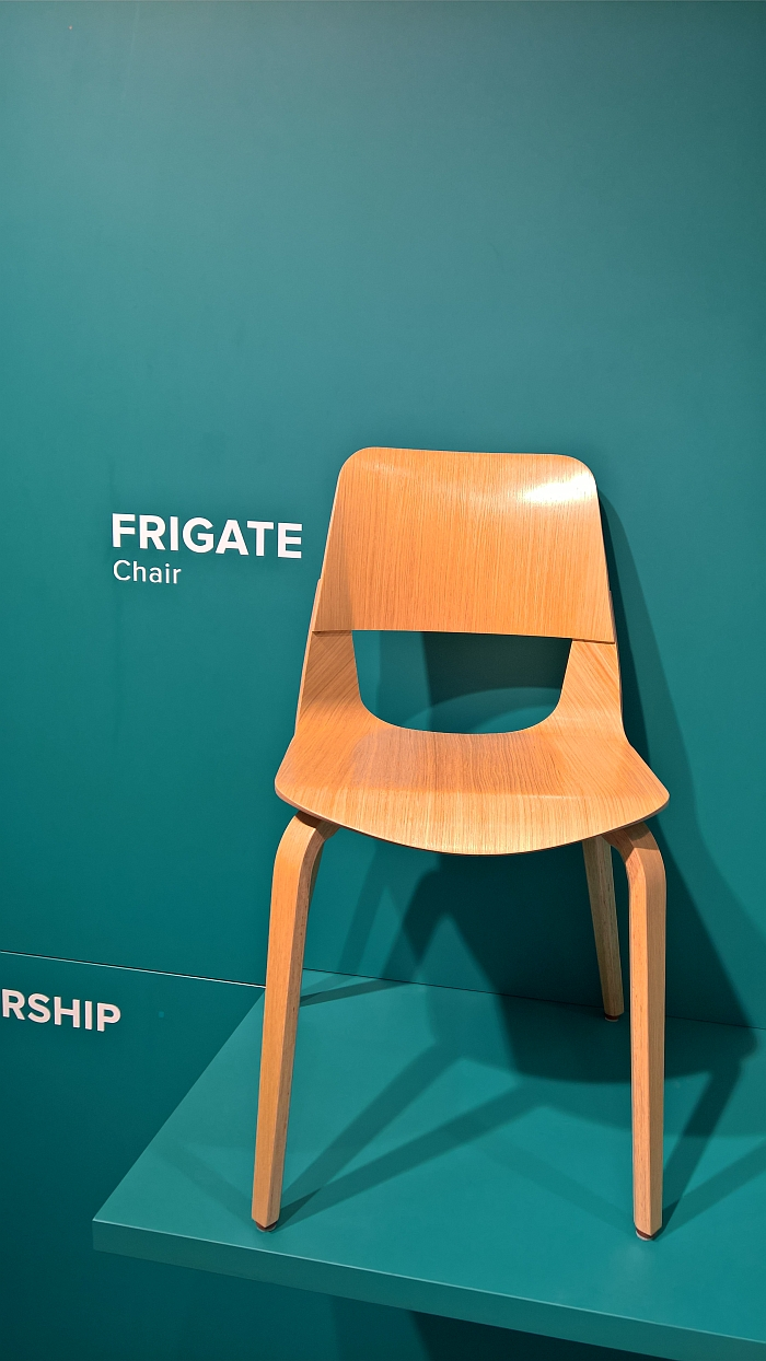 Frigate by András Kerékgyártó for Plydesign, as seen at Stockholm Furniture and Light Fair 2018
